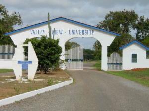Valley View University Gate