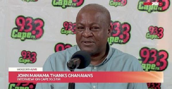 'Our manifesto captured Oti region for agro processing enclave' - Mahama