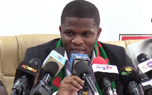 Sammy Gyamfi, NDC communication officer