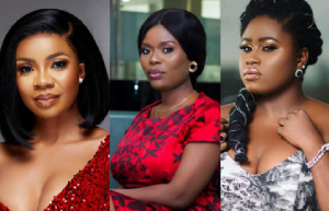 Serwaa, Delay and Lydia Forson are part of celebrities that have been trolled for being single