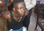 Lance Corporal Bright Akosa is facing charges for robbery