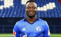 Schalke 04 attacker Bernard Tekpetey