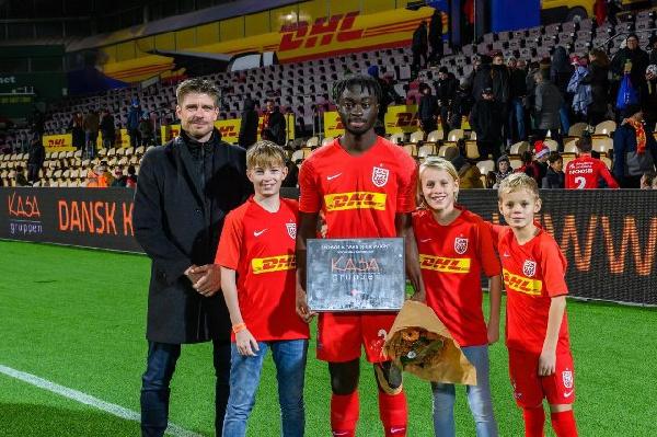 Abdul Mumin wins man of the match in Nordsjælland's defeat to FC Copenhagen