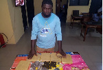 Augustus Akwasi Koranteng was caught with substances suspected to be Indian Hemp
