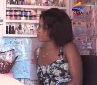 Naomi Commey is a makeup artist