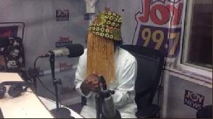 Anas Aremeyaw Anas was on Joy FM's Super Morning Show