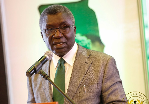Minister of Environment Science and Technology, Prof. Kwabena Frimpong Boateng