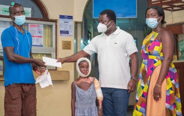Assin South MP supports 9-year-old fire victim