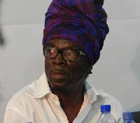 Kojo Antwi, Chairman of the Ghana Music Right Owners Organization (GHAMRO)