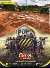 The residents have started a campaign to get the roads in their vicinity fixed