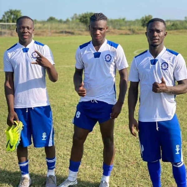 Stephen Appiah\'s son Rodney Appiah trains with Great Olympics ahead of 2021-22 football season
