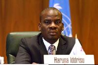 Haruna Iddrisu leader of the NDC caucus in parliament