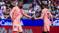 Boateng shared the dressing room with Dembele at Barcelona