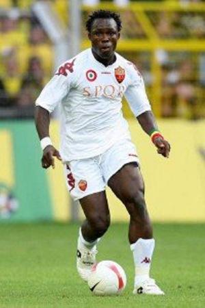 Ghana international Ahmed Barusso
