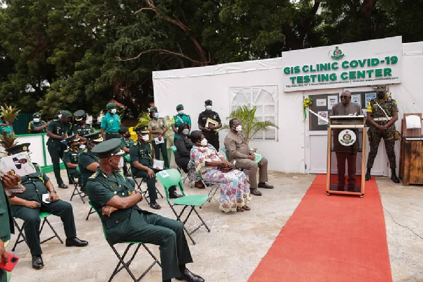 The facility was commissioned by Interior Minister, Ambrose Dery