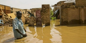 A flooded area in northern Ghana | File photo