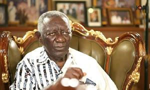 Ex-President of Ghana, Mr. John Agyekum Kufuor