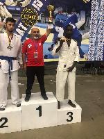 Abdul Malik Adjei grabbed third place