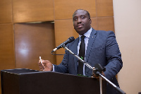 Arnold Parker, Managing Director of AFB Ghana
