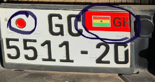 According to the DVLA  decorated number plates is illegal