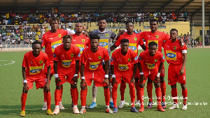 Asante Kotoko players