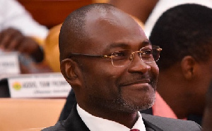 MP for Assin Central, Kennedy Ohene Agyapong