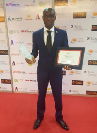 GNPC has won the Majestic Falcon Award for Quality and Excellence and the Ghana Industry Leadership