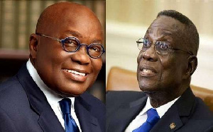 President Akufo-Addo and late President Mills