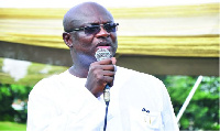 Mr. Kojo Bonsu, former CEO of Kumasi Metropolitan Assembly