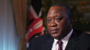Kenya president Uhuru Kenyatta