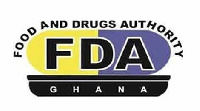Logo for the Food and Drugs Authority (FDA)