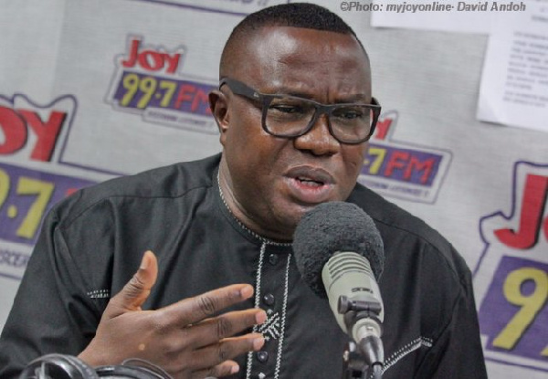 Director of Elections for the NDC, Samuel Ofosu Ampofo