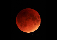 An photo example of the blood moon