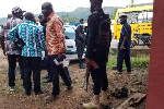 NDC supporters accuse masked policeman of being a vigilante