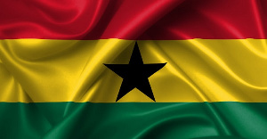 File photo of the Ghana flag