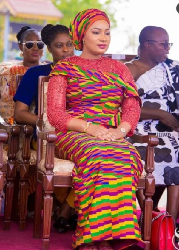 10 times Samira Bawumia slayed and left us gasping for breath in her Kente  styles