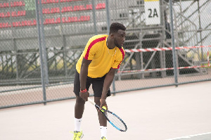 Tennis player, Herman Abban