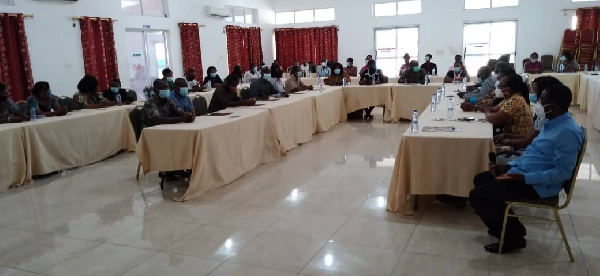 Stakeholder forum to assess implementation of UDDT held in Ho
