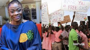 Diana Asamoah And Free Shs