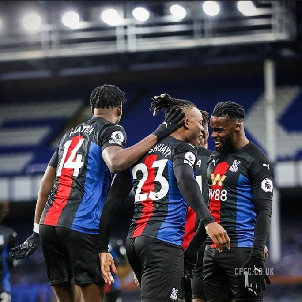 Jeffrey Schlupp reacts to Crystal Palace draw against Everton