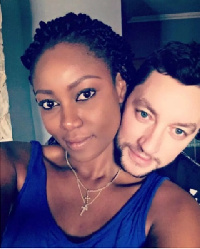 Yvonne Nelson and Jamie Roberts - Yvonne's baby daddy