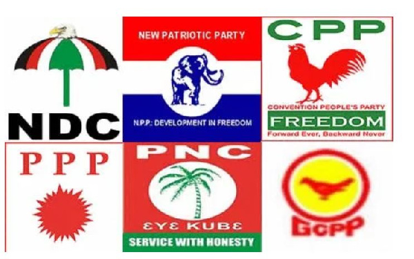 Logo's of political parties