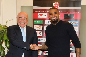 Boateng is the 11th new signing of this season for Monza