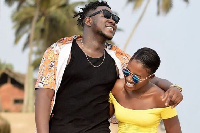 Medikal features Fella Makafui in 'For You' video