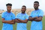 Ghanaian trio helped Elman FC to finish third in the Somali league