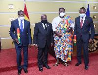 President Nana Addo Dankwa Akufo-Addo with new envoys