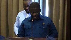 Director-General of NADMO, Eric Nana Agyemang