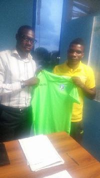 Neequaye has scored three goals in the current season