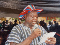 Martin Koffitse Nyahe, former Akatsi South Chairman of the NPP