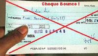 File Photo: A dud cheque